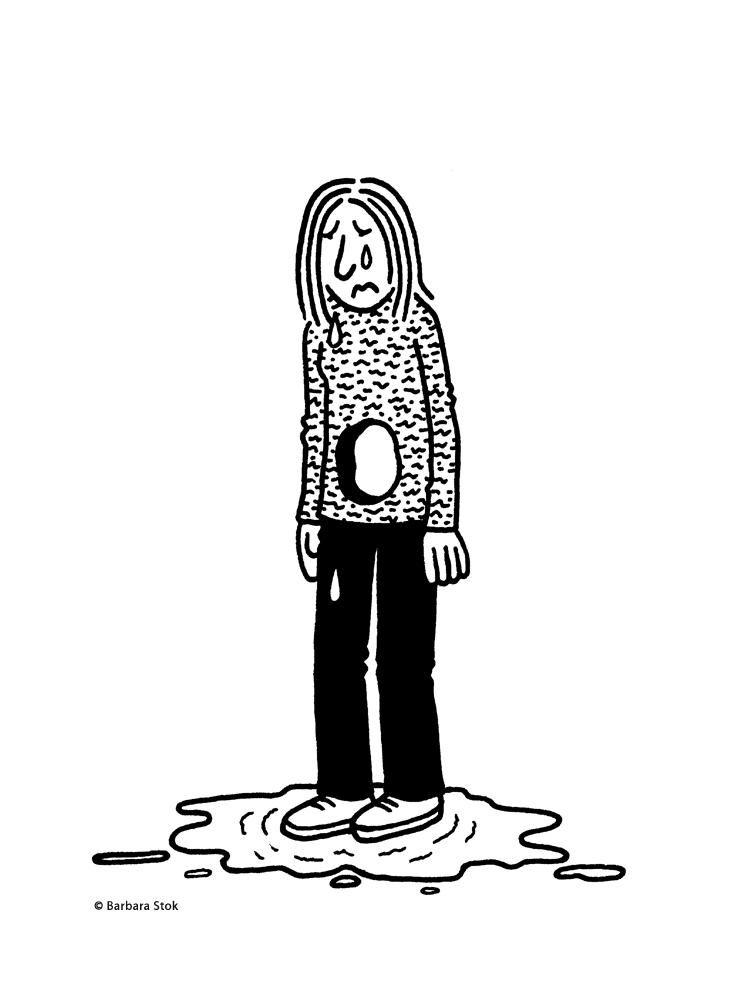 fragment uit autonoom verhaal 'Kinderloos'
