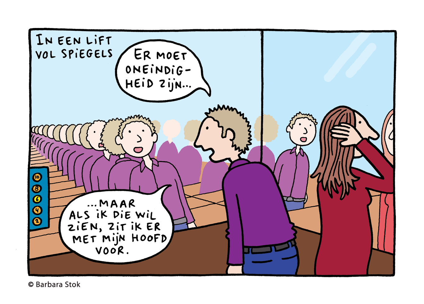 cartoon voor NRC