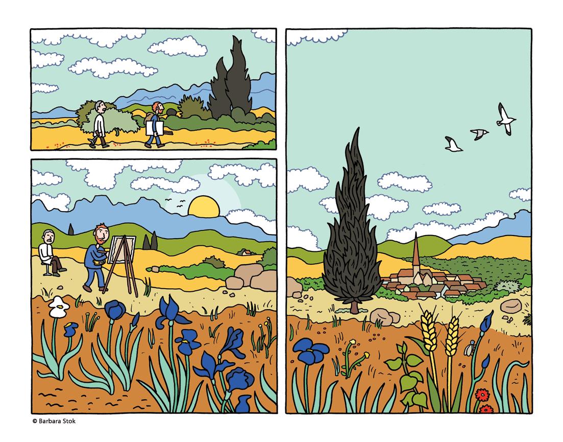 fragment uit Vincent
