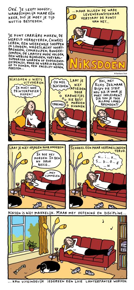 strip 'Niksdoen' voor NRC Next